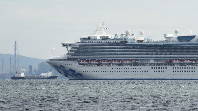 Jepun kuarantin 3,700 orang di kapal pesiaran