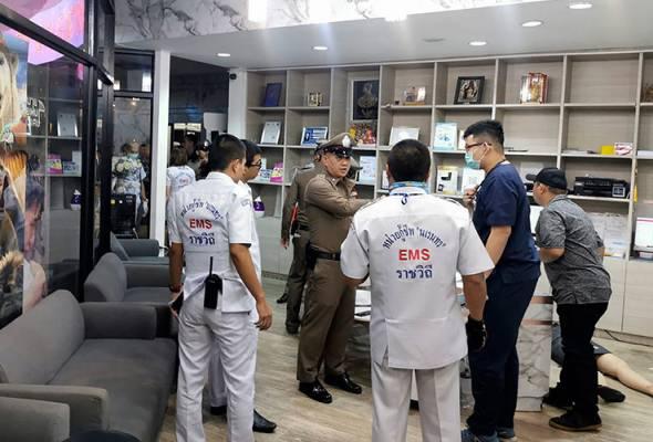 Lelaki tembak mati bekas isteri di pusat beli-belah Bangkok