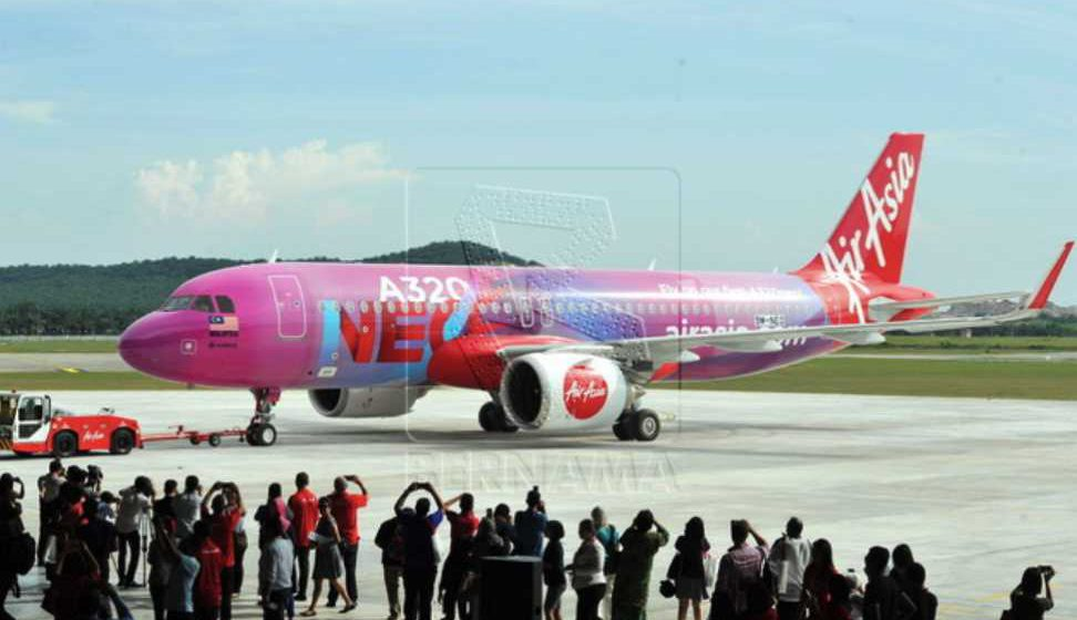 AirAsia perkenal laluan baharu KL- Ahmedabad