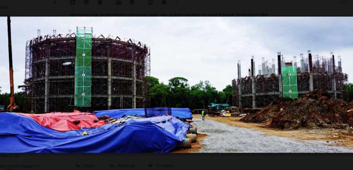 Projek bekalan air Samariang siap Februari 2021