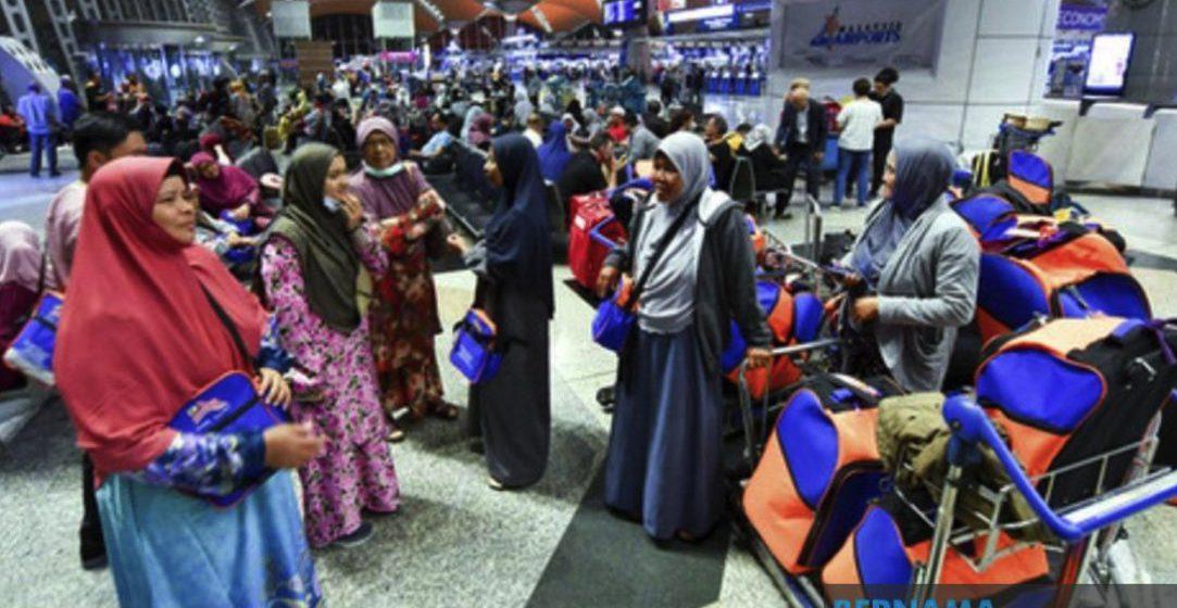 Lebih 100 jemaah umrah Malaysia, Indonesia terkandas di KLIA