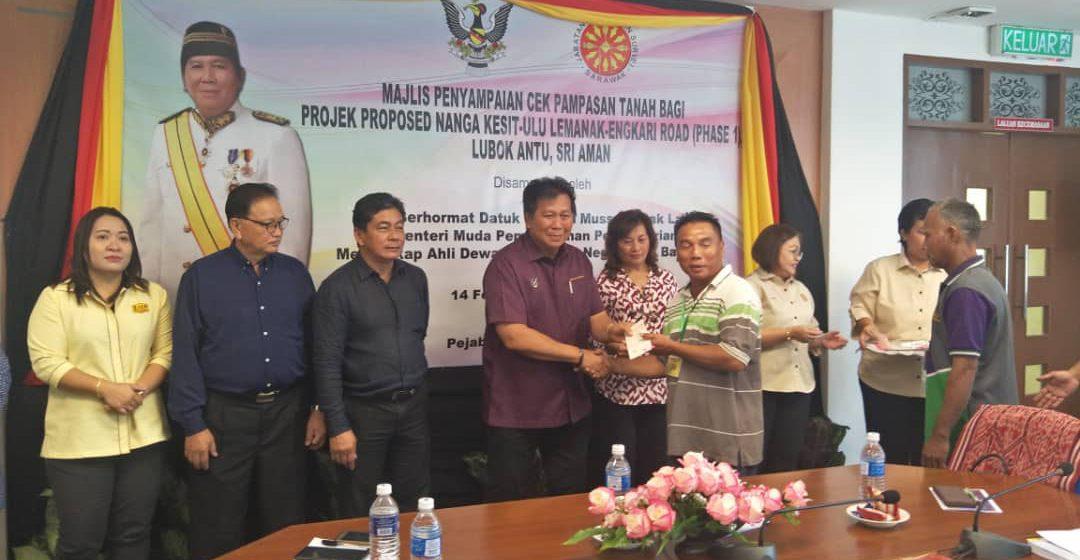 Tanah untuk projek rakyat dibayar pampasan