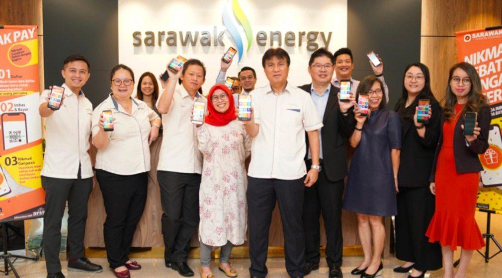 Staf Sarawak Energy diperansang ngena Sarawak Pay