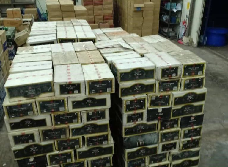 Rokok, minuman keras antara barang berjaya disita Kastam Sarawak