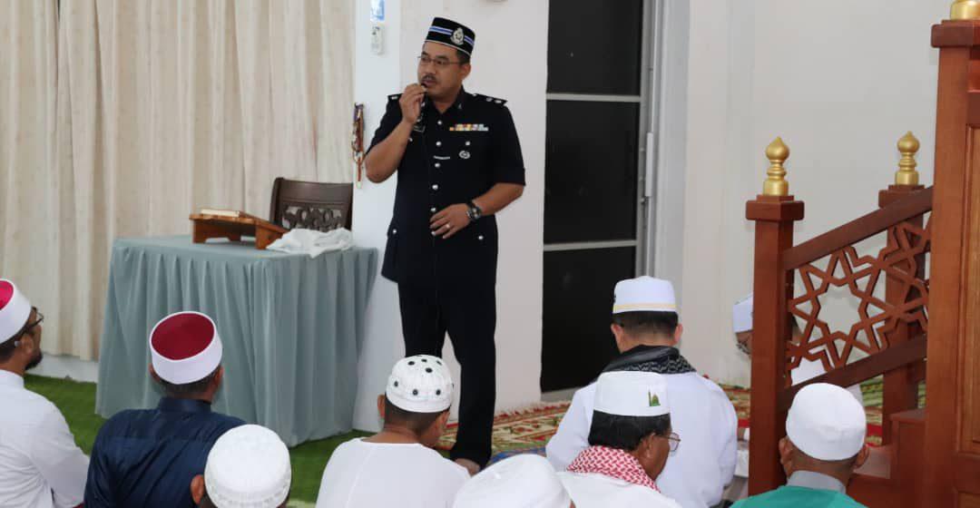 Program Solat Jumaat sebagai satu Modul Community Policing – Supt Zulkipli Suhaili