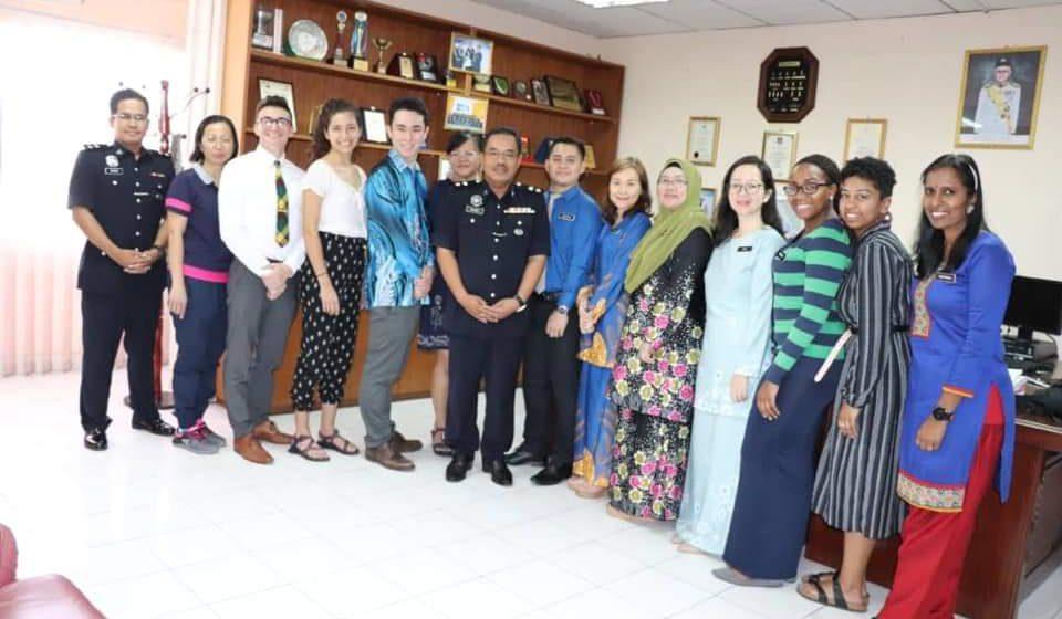 Kunjungan muhibah ETA ke IPD Bintulu