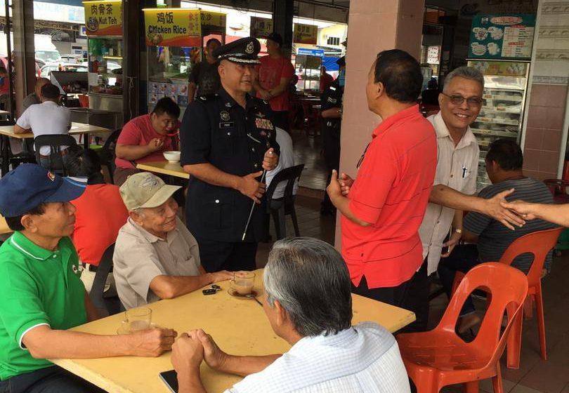 Program polis bertemu masyarakat di Bau