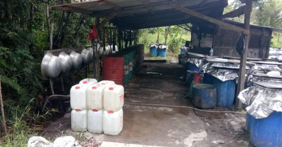 Langkau putih tanpa lesen berjaya dirampas di Sibu