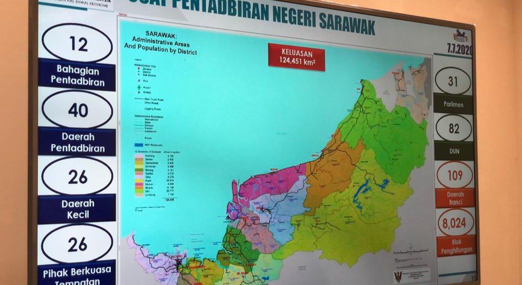 Banci penduduk, perumahan 2020 seluruh Sarawak diadakan 7 Julai ini