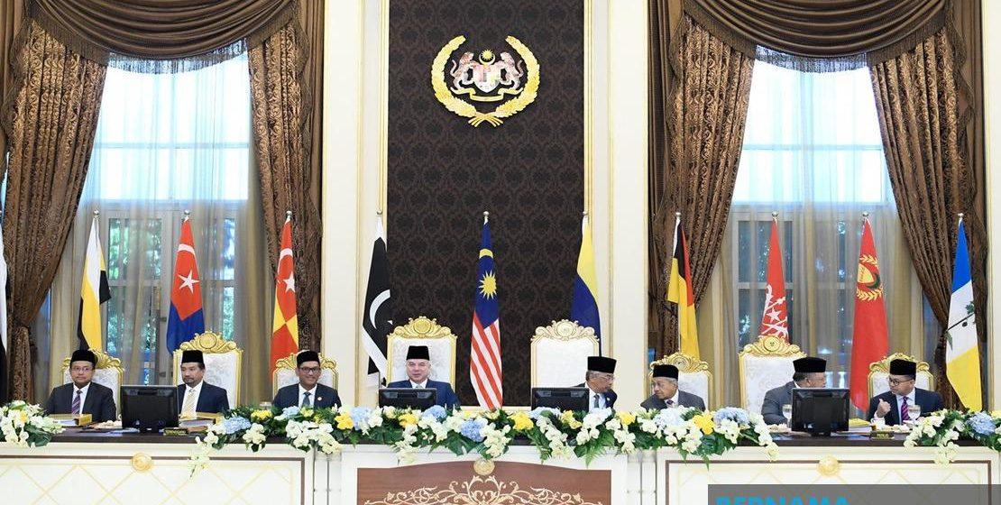 Mesyuarat khas Majlis Raja-raja harapan untuk selesaikan kemelut politik negara