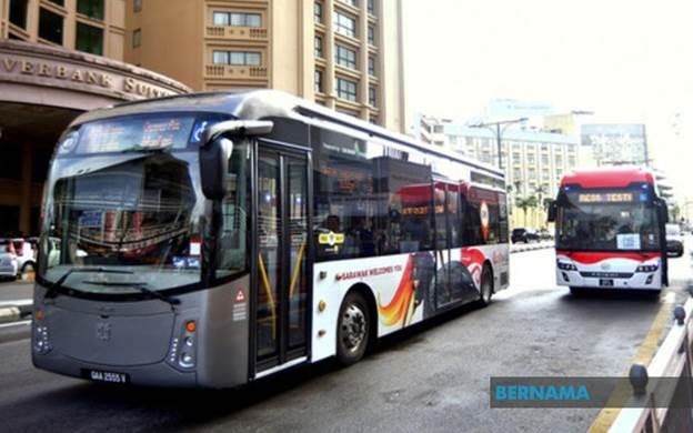 Subsidi RM4 juta untuk syarikat bas Sarawak