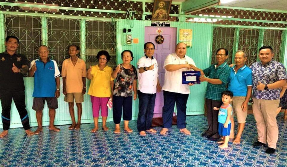 Tiga gereja terima dana Unifor