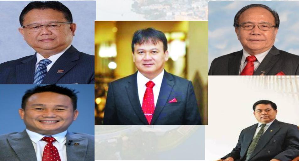 Lima pengari Dayak dalam kabinet baru