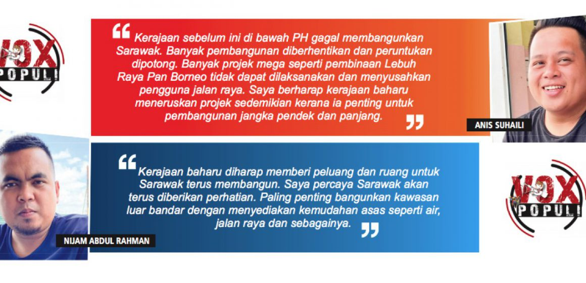 Rakyat harap PM prihatin terhadap Sarawak