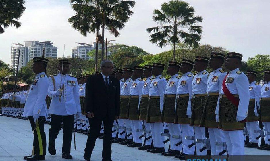 Ismail Sabri mula tugas sebagai Menteri Pertahanan