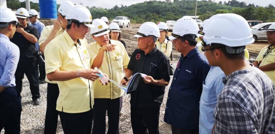 Projek SK Ulu Segan baru tembu 35 peratus