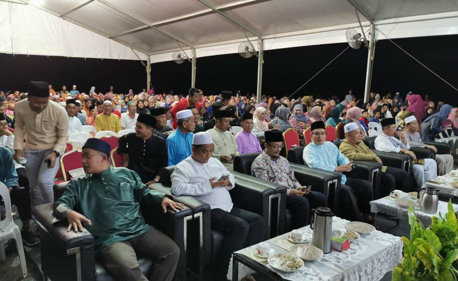 3,000 penduduk Mangut datang majlis ilmu Ustaz Kazim