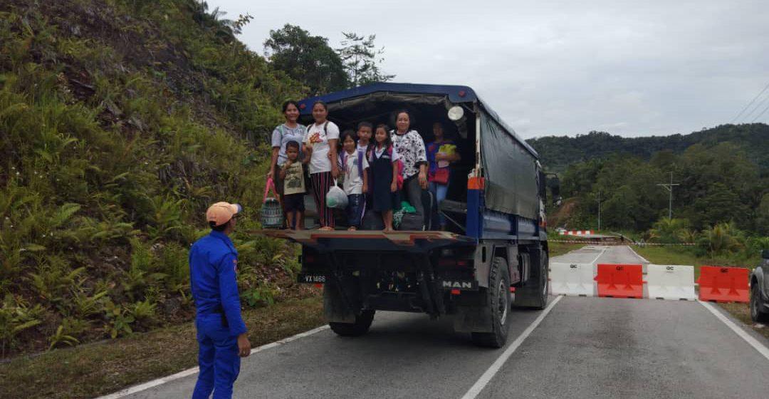Tanah runtuh: 18 pelajar asrama terpaksa pulang