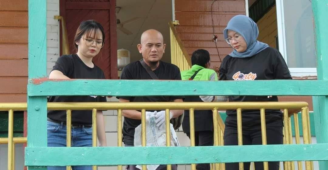 Program Khidmat Masyarakat ADAP 4orty meriah di Bintulu