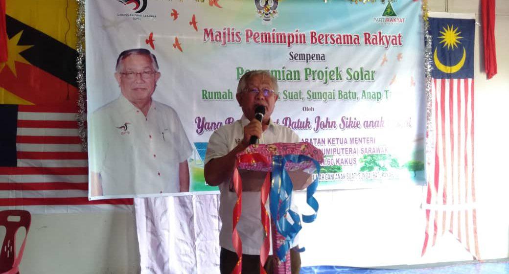 Projek SARES bekal elektrik 24 jam kepada penduduk luar bandar di Sarawak