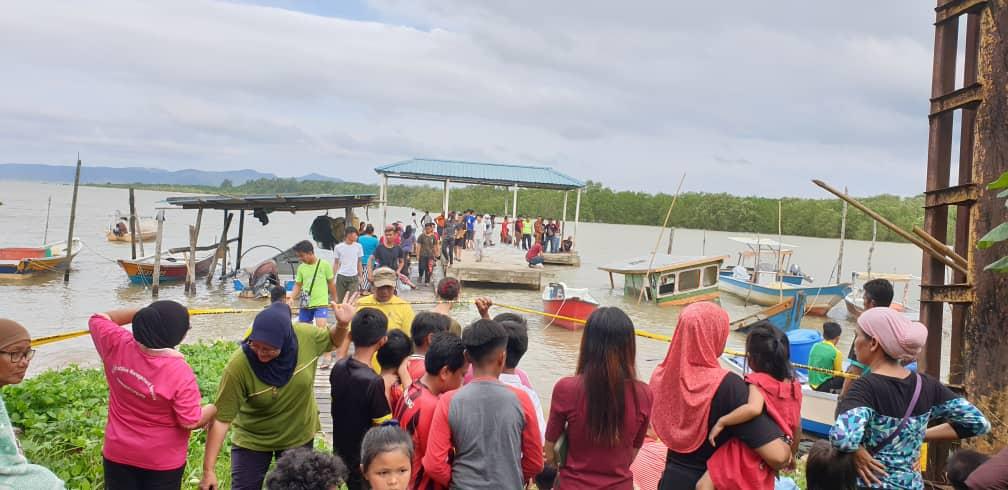 Sedih, lagi pelajar lemas  sempat ditarik rakannya sebelum tenggelam di Sungai Santubong