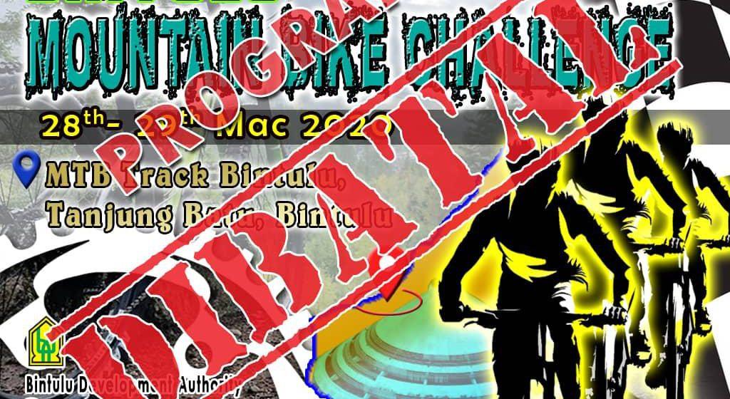 Penganjuran Cabaran Basikal Bukit 2020 dibatalkan