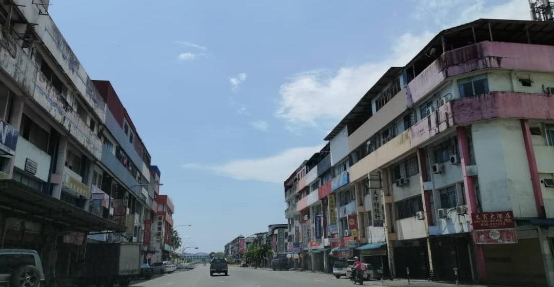 Bandar Bintulu terus lengang