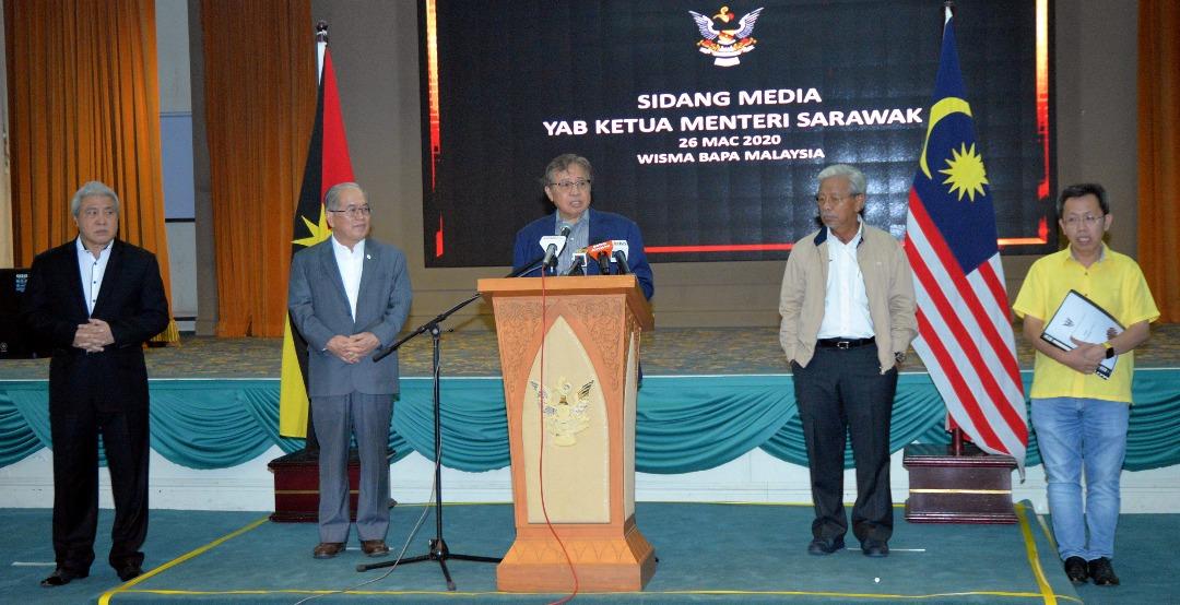 Sarawak numbuhka komiti pengatur pemakai enggau pengelikun