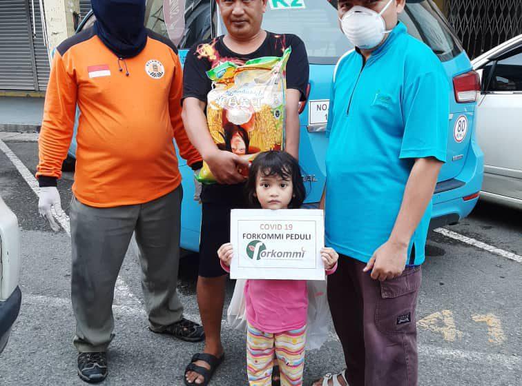 FORKOMMI Bintulu hulur bantuan untuk warga Indonesia
