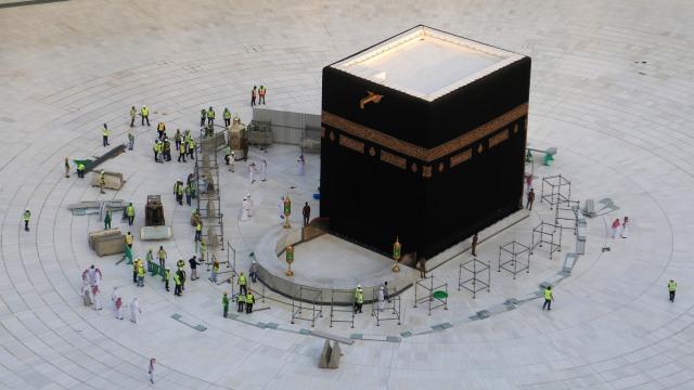 Arab Saudi sterilisasi sekitar Kaabah