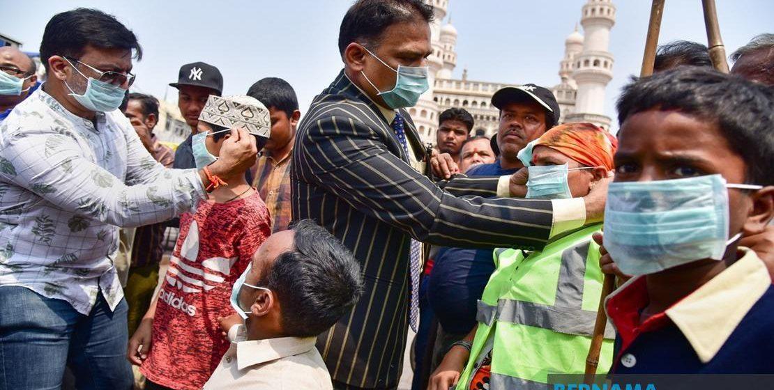 COVID-19: India catat 27 kematian, 1,024 kes jangkitan