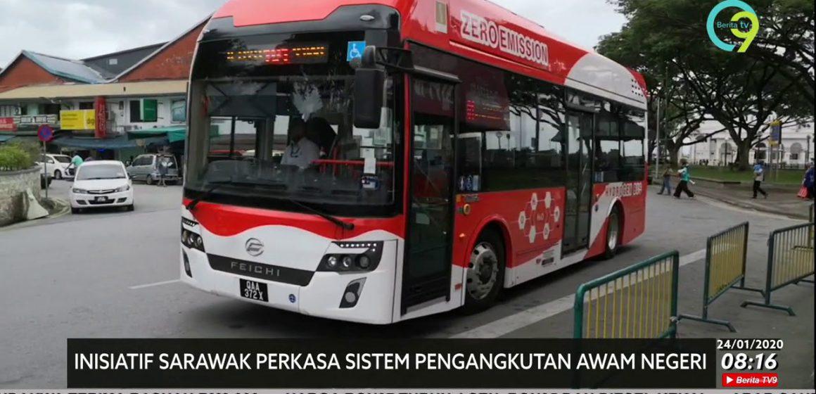 Bas hidrogen kembalikan kegemilangan perkhidmatan awam