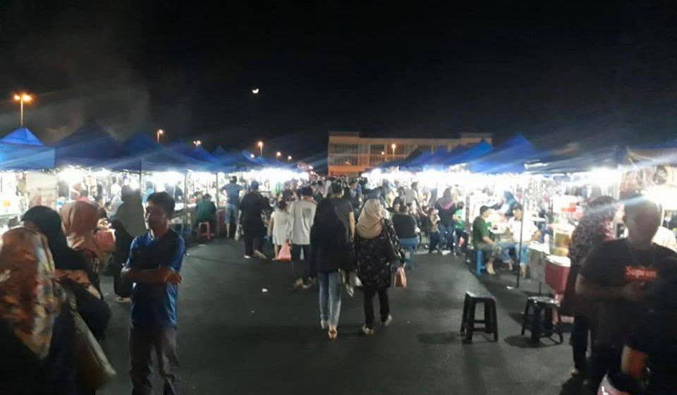 Operasi Pasar malam Metrocity di tangguh sementara