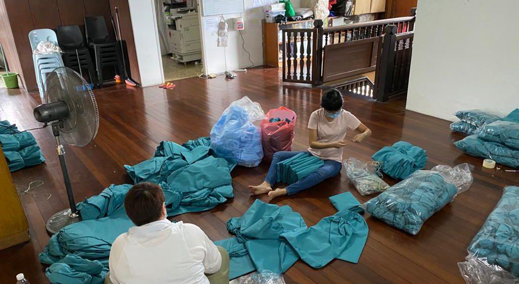 Hasilkan PPE untuk HUS
