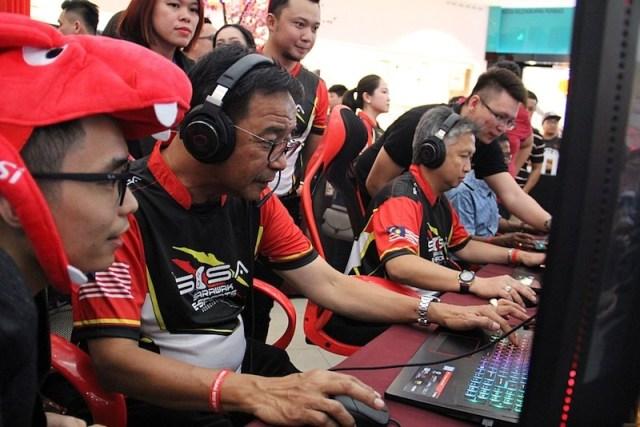 630 peserta telah daftar cabaran e-sukan Sarawak