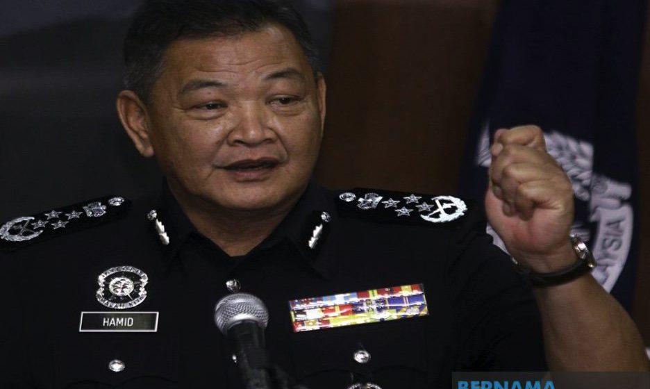 Ketua Polis Negara negatif COVID-19, jalani kuarantin kendiri 14 hari