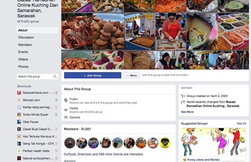 Bazar Ramadan Online tarik 21,000 pengikut