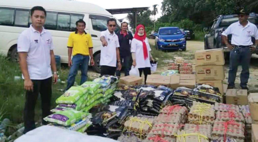 Lagi 584 penerima Dun Daro terima makanan