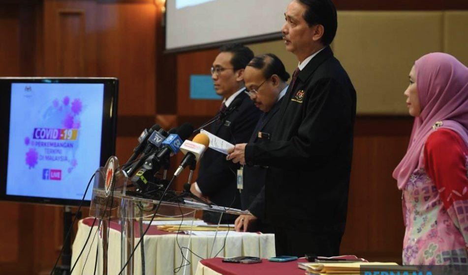 Kadar kematian di Malaysia 1.58 peratus –  KP Kesihatan