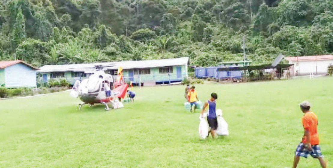 Guna dua helikopter ke Kampung Tuba