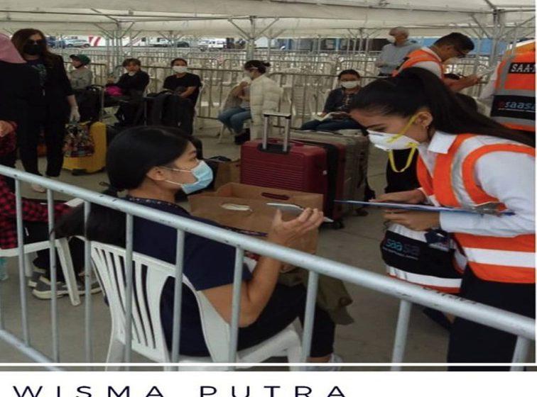 205 rakyat Malaysia pulang ke tanah air