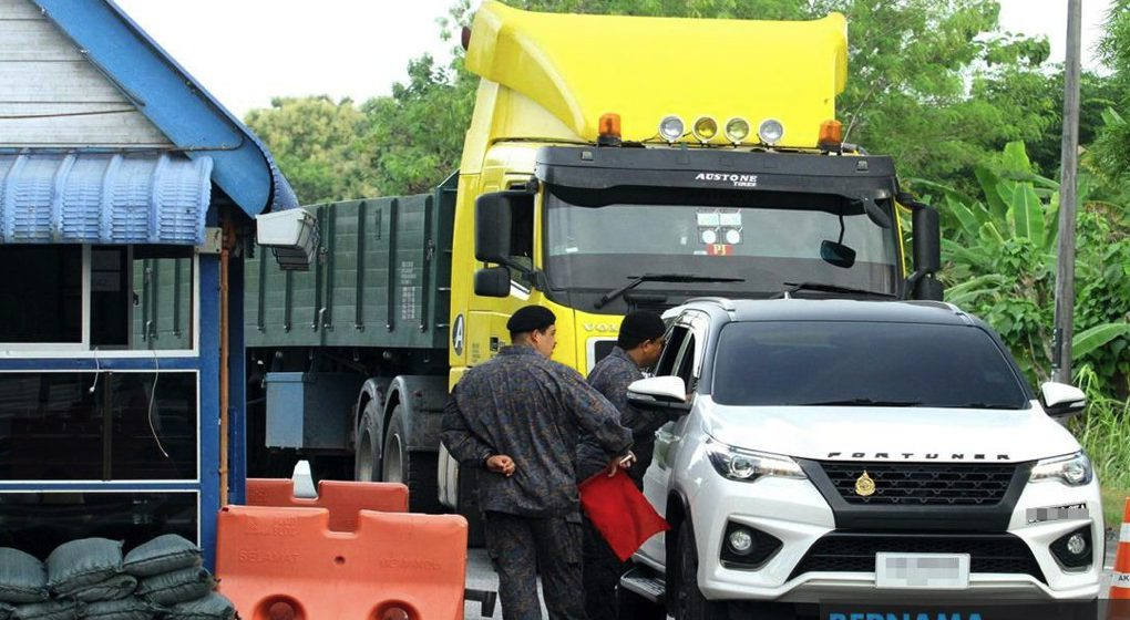 400 pekerja Thailand cuba seludup masuk dari Malaysia ditahan