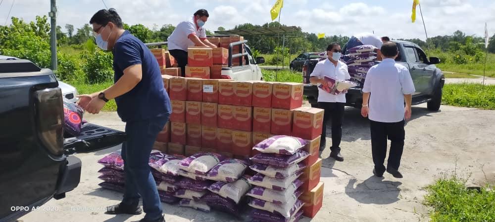 Penduduk lega terima bantuan ADUN Repok