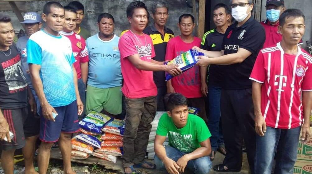 Razi mantu peranak Saribas ti gawa kontrak di Kuching