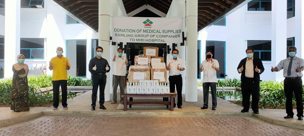 Samling meri bantu lebih RM400, 000 ngagai Sepital Miri