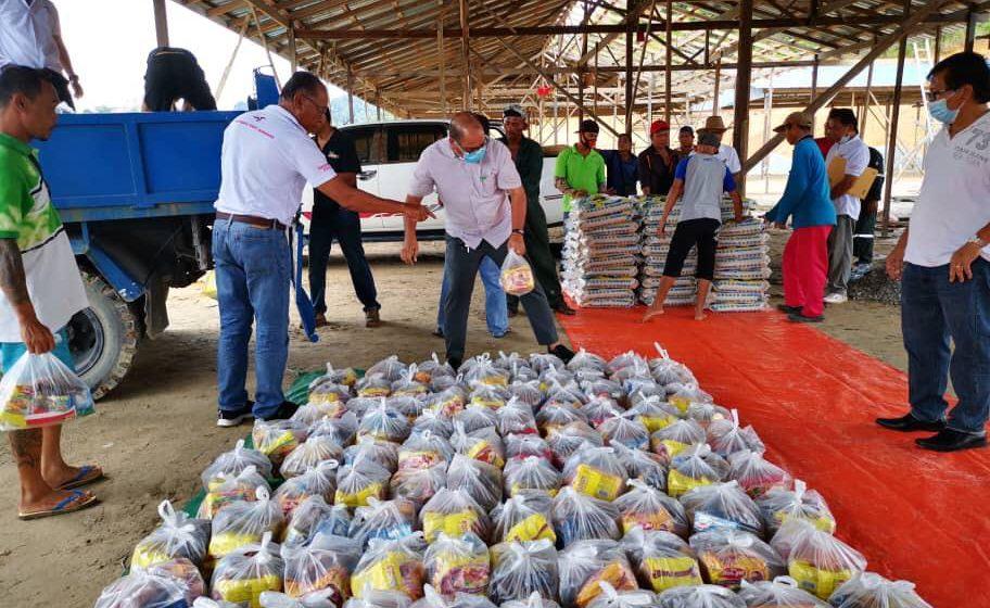 Bantuan makanan Sarawakku Sayang bagi DUN Kakus