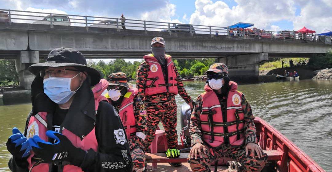 Operasi mengesan mangsa hilang di sungai diteruskan