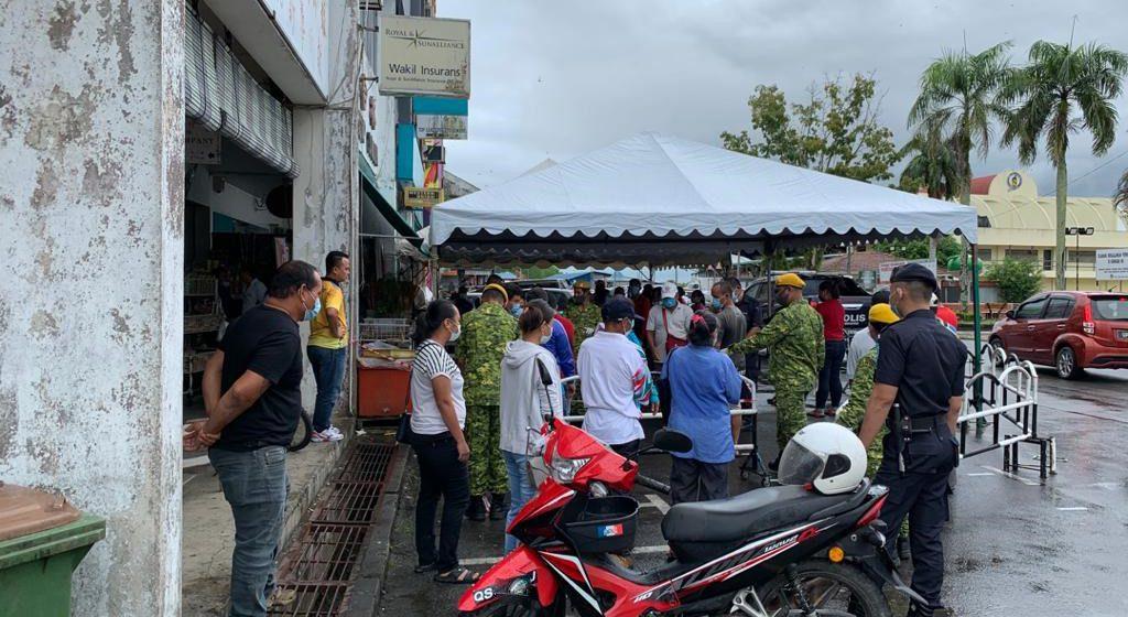 Polis dan Rela perketat kawalan demi keselamatan penduduk Meradong
