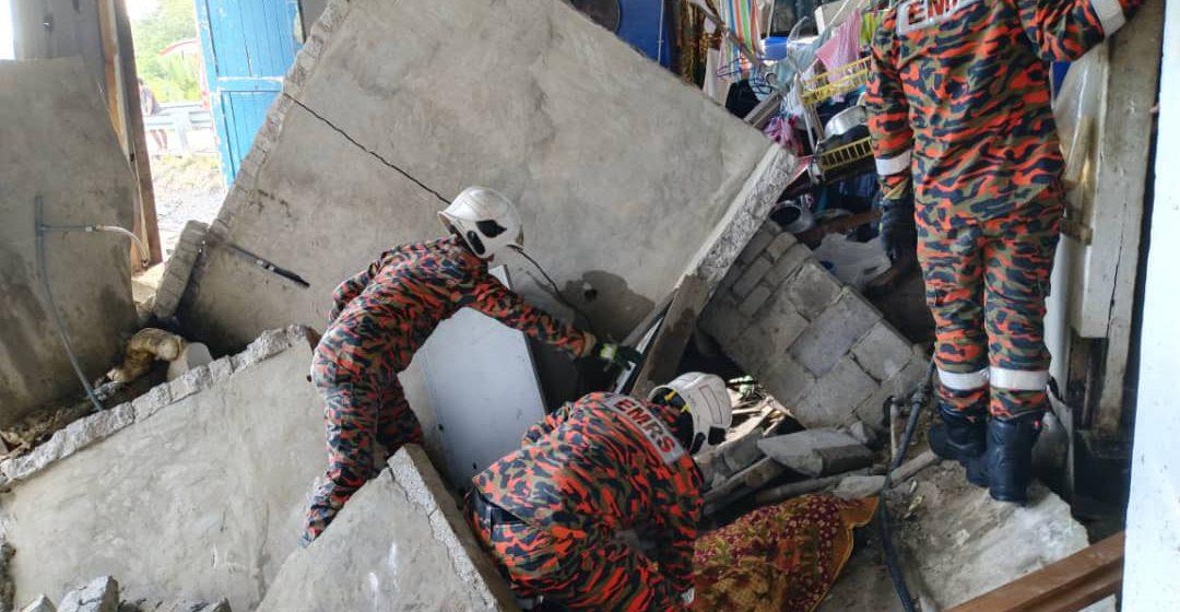 Gurauan berebut tandas petanda akhir buat mangsa rumah runtuh di Kuching