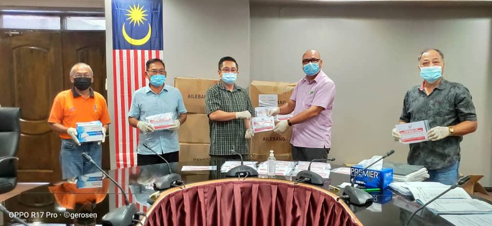 5,338 Ketua Isi Rumah di Daerah Tatau bakal terima penutup mulut dan hidung bermula Isnin hingga Selasa depan